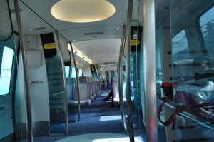 Airport Express Train Hongkong