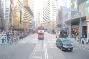 Trams in HK