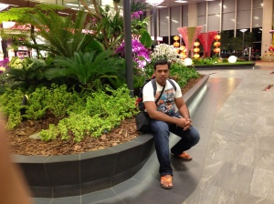 At Changi Airport Singapore
