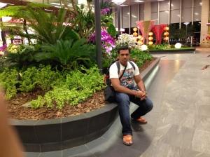 At Changi Airport Singapore
